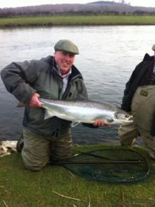 FishTweed Largest Salmon Winner March