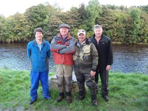 A picture of the crew at Baronscourt Estate
