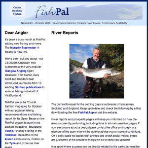 FishPal newsletters