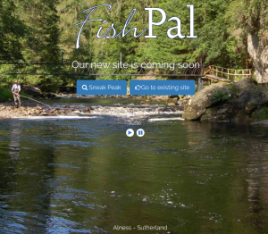 FishPal Splash page